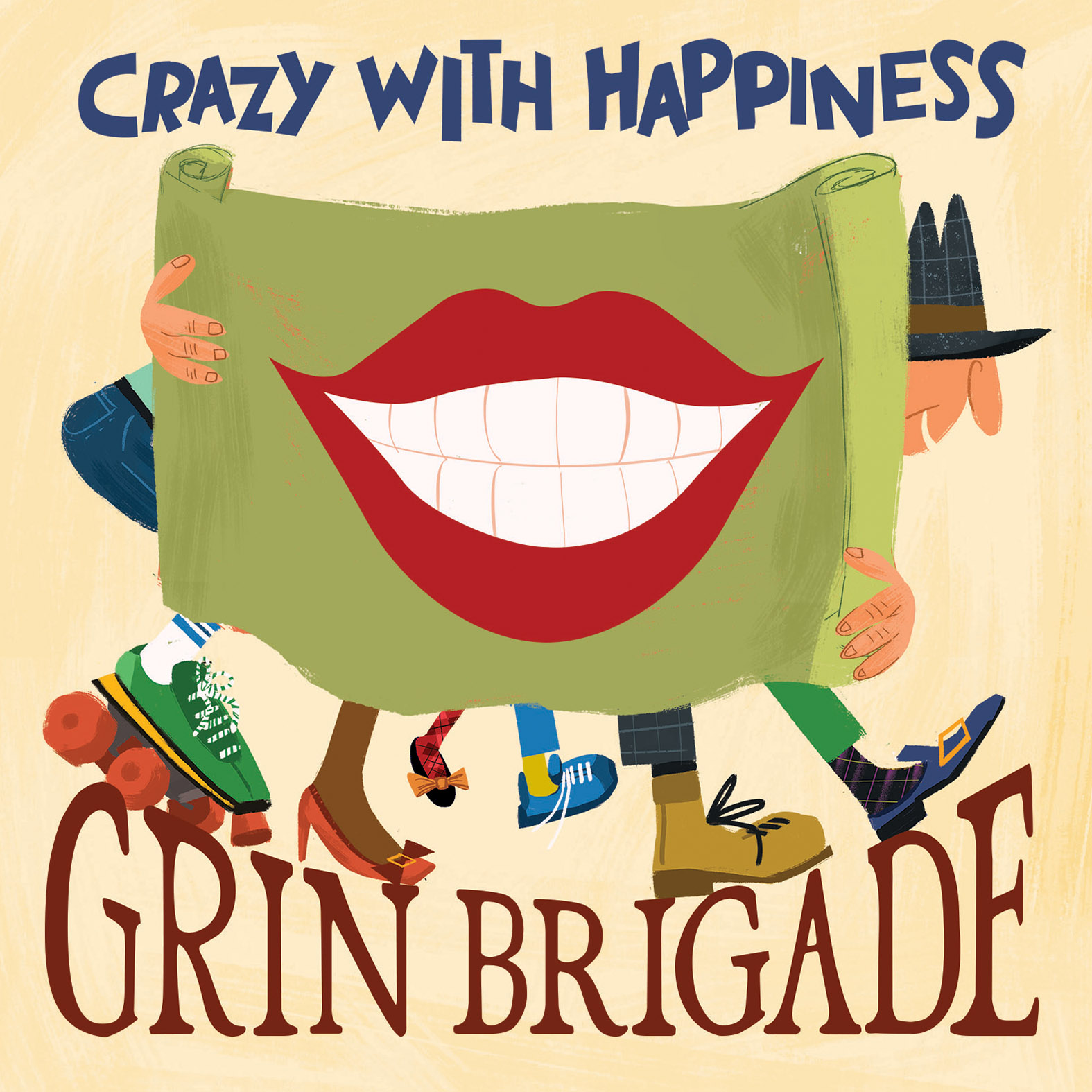 GrinBrigade-CrazyWithHappiness-300dpi